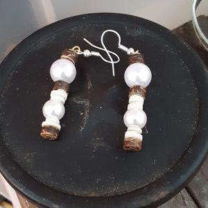 Tropical mermaid earrings